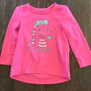 Jumping beans Tea Rex thermal top